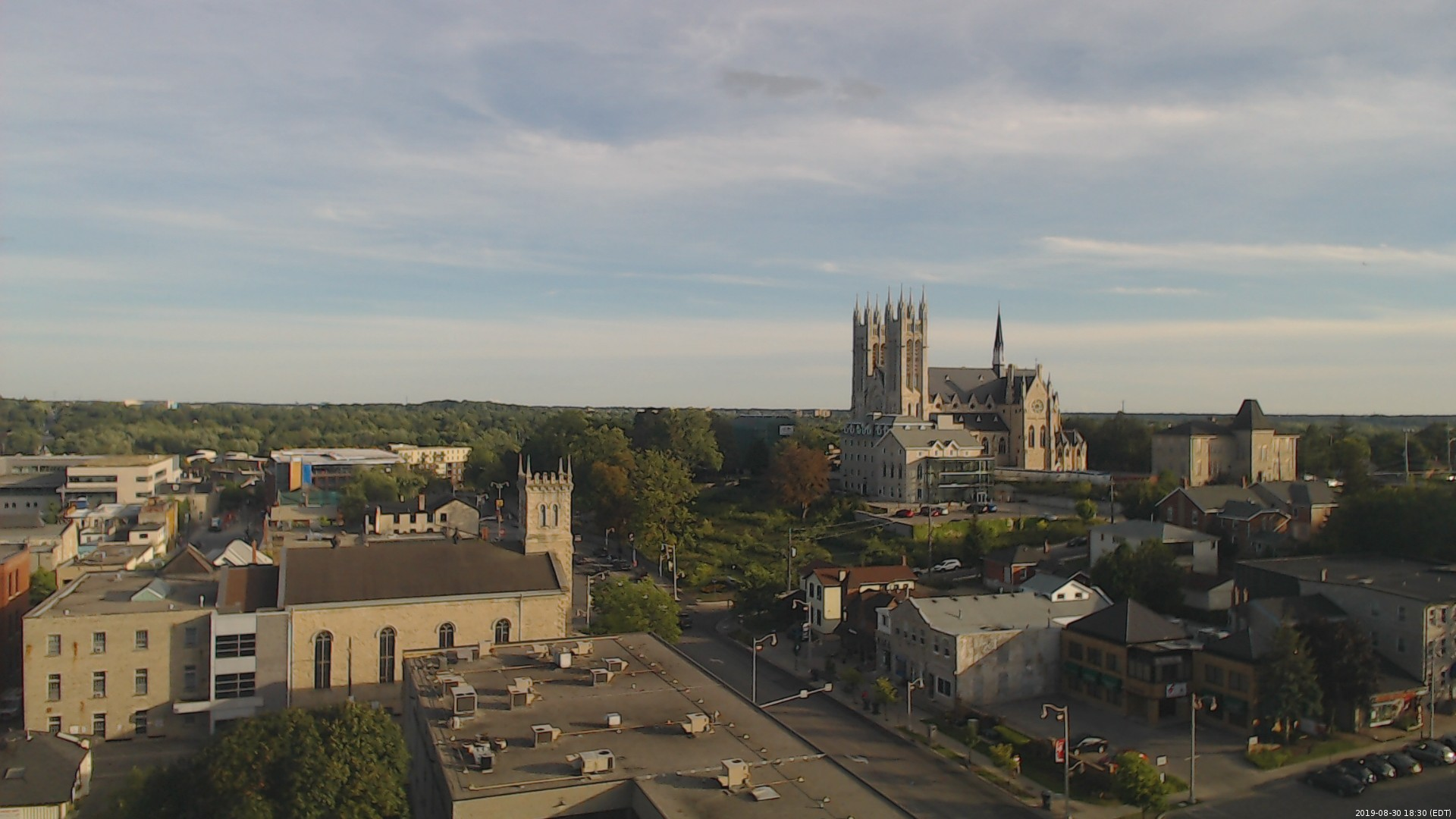 webcam capture of downtown Guelph