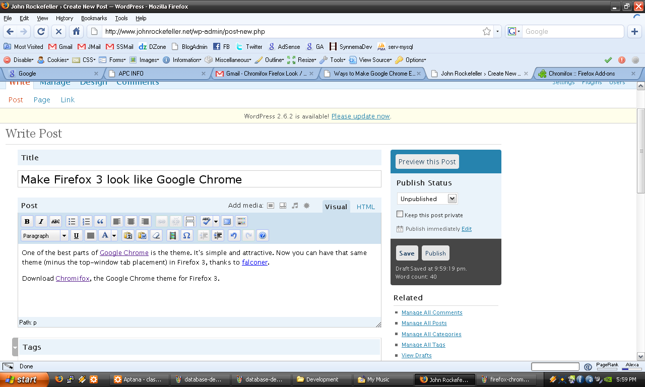 Google chrome theme internet explorer - Download Chromifox The Google Chrome Theme For Firefox 3
