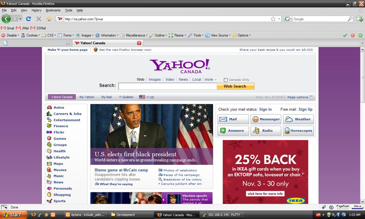 Barack Obama Elected 2008
