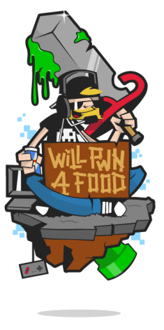 Will Pwn 4 Food Logo