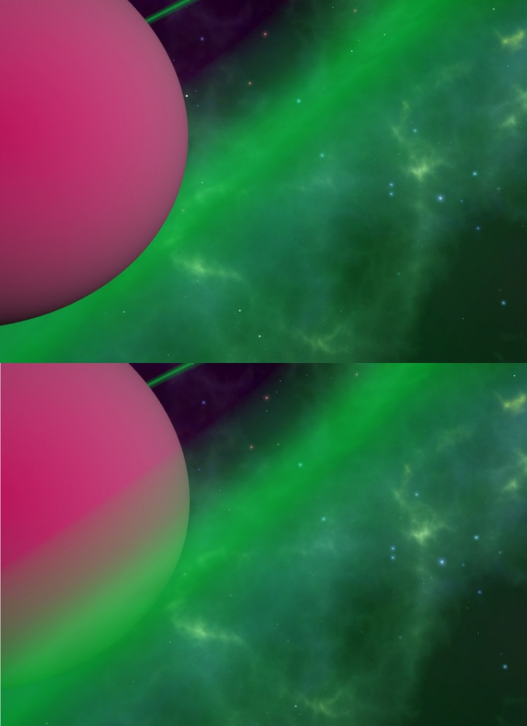 Before and After: Unity3d Transparent Shaders Respecting Z-Index
