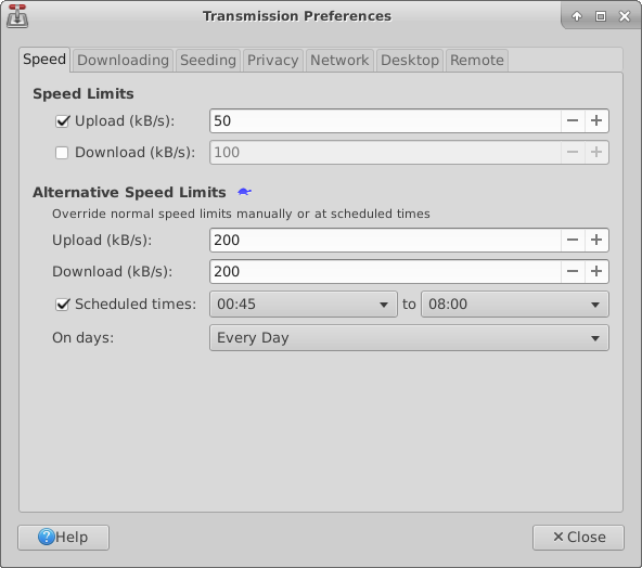Transmission Torrent Software